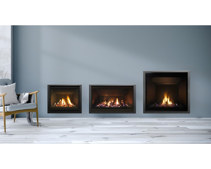 DF990 High Output Gas Fireplace