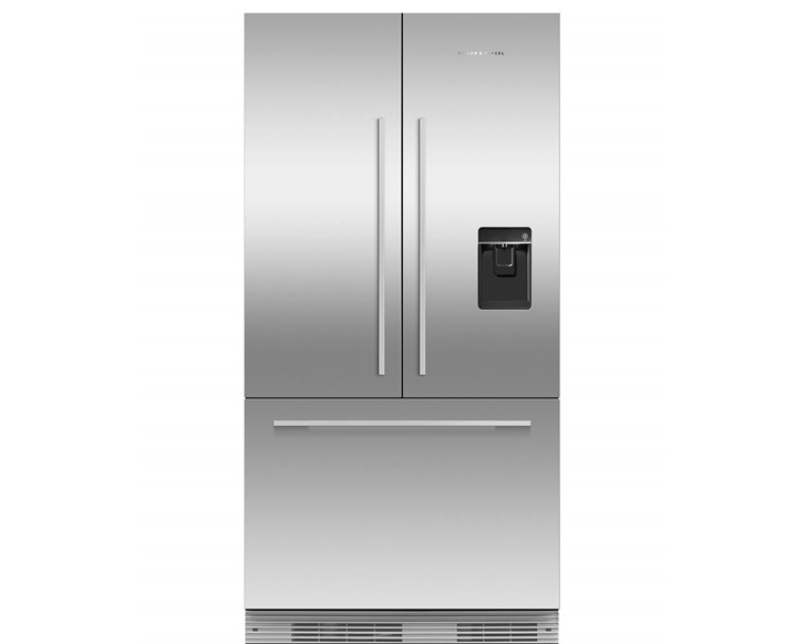 Integrated French Door Fridge 900mm - Ice & Water