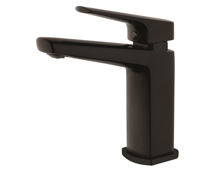 Eclipse Matte Black Basin Mixer VECL022