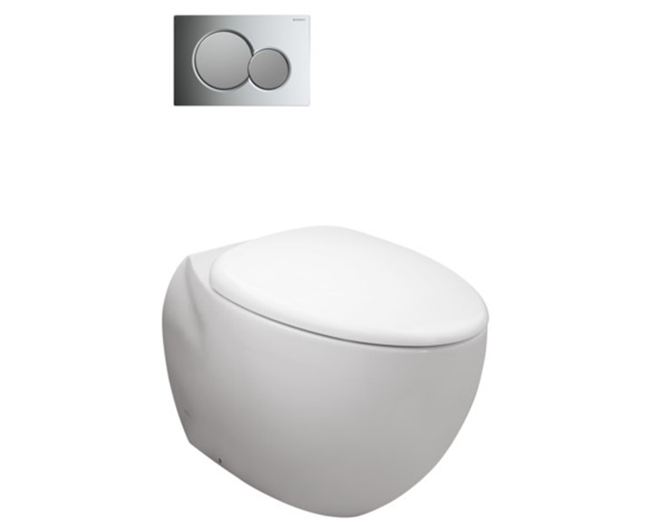 Toto Le Muse Wall-Faced Toilet Suite
