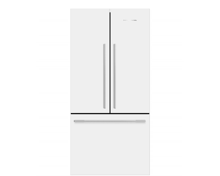 French Door Fridge 790mm – Metal Handles