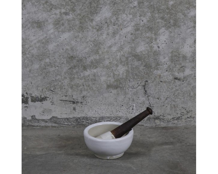 Original Ceramic Mortar & Pestle
