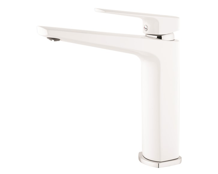 Eclipse White/Chrome Sink Mixer VECL011